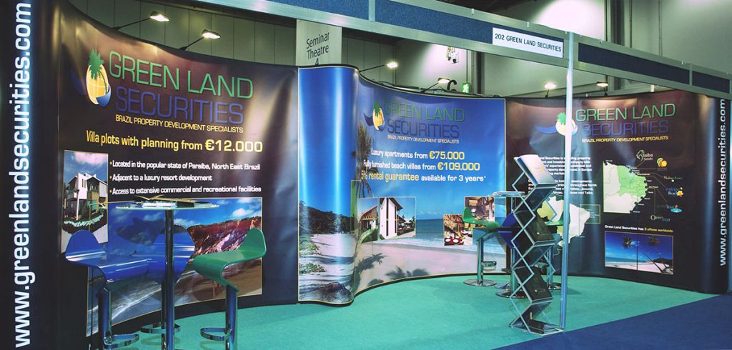 Greenland Securities Exhibition Stand