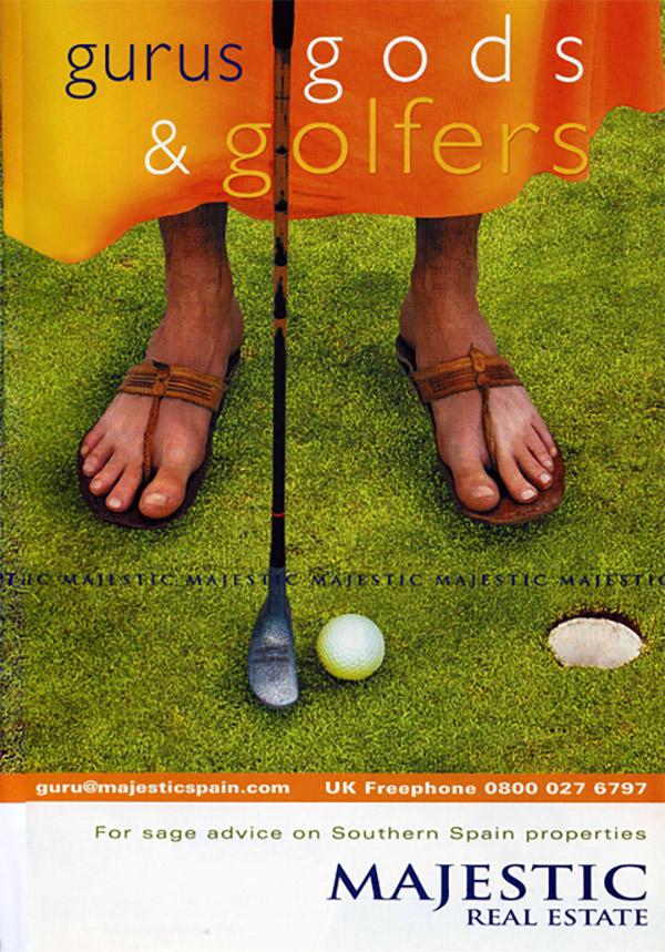 Creative Concept-gurus, gods & golfers