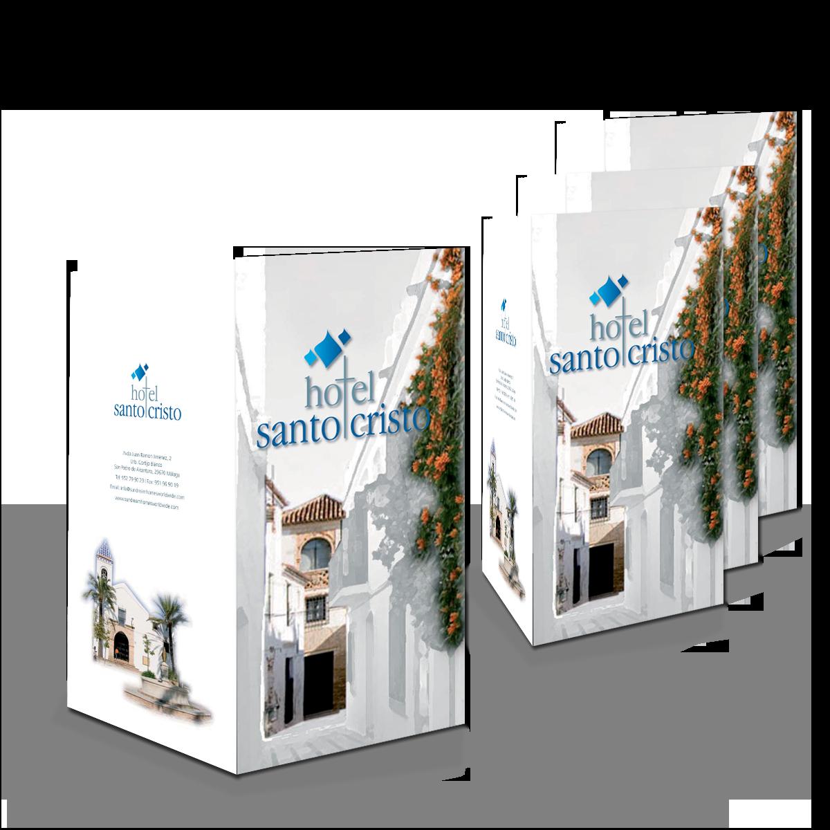 Hotel Santo Cristo brochure
