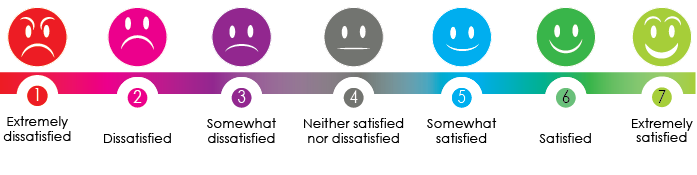 Infographics - Satisfaction scale2