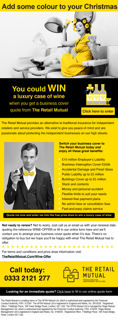The Retail Mutual - Email Shot1