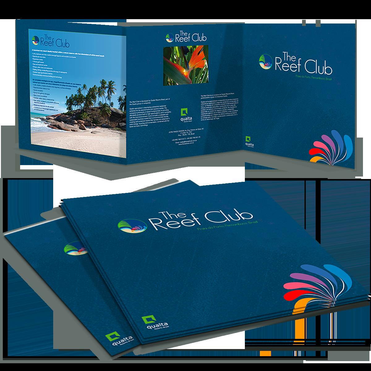 The Reef Club brochure-folder